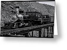 Denver-rio Grande Rr Greeting Card
