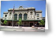 Denver - Union Station Film Greeting Card