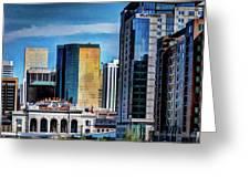 Denver Union Station II Greeting Card