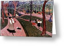 Derain: Hyde Park Greeting Card