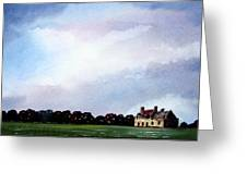 Derelict Farmhouse Near Malton Greeting Card