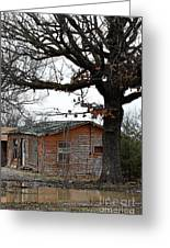 Derelict In Hope Greeting Card