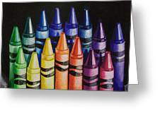 Des Colores Greeting Card