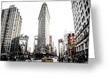 Desaturated New York Greeting Card