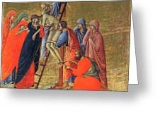 Descent From The Cross 1311 Greeting Card