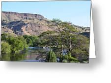 Deschutes River At Trout Creek Greeting Card