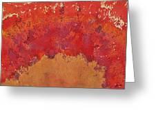 Desert Arch Original Painting Greeting Card