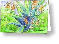 Desert Blooms Greeting Card