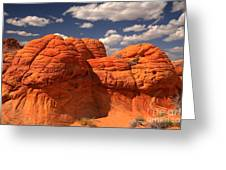Desert Brain Rocks Greeting Card