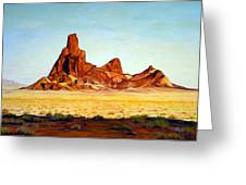 Desert Buttes Greeting Card by Evelyne Boynton Grierson