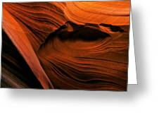 Desert Carvings Greeting Card