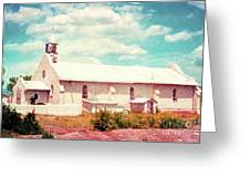Desert Chapel Greeting Card