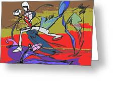 Desert Dance  Greeting Card