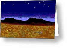 Desert Eve Greeting Card