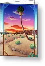 Desert Gazebo Greeting Card