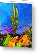 Desert Giant Greeting Card