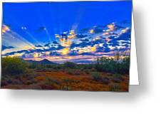 Desert Glory Greeting Card