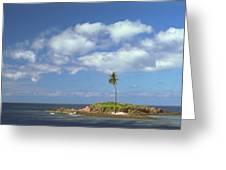 Desert Island Greeting Card