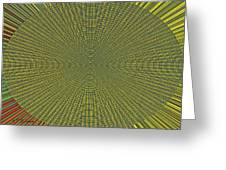 Desert Marigold Flowers Abstract #2 Greeting Card
