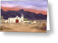 Desert Mission Greeting Card