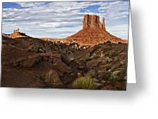 Desert Mitten Greeting Card