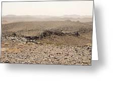 Desert. Morning. Greeting Card