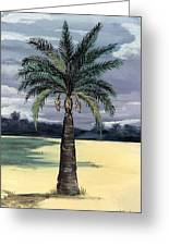 Desert Palm 2 Greeting Card