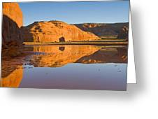 Desert Pools Greeting Card by Mike  Dawson