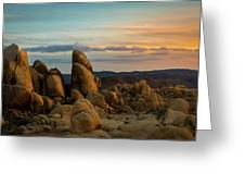 Desert Rocks Greeting Card