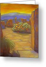 Desert Rose Greeting Card by Marcia  Hero