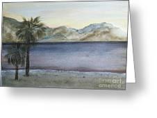 Desert Sea Greeting Card