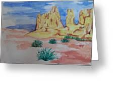 Desert Sky Greeting Card