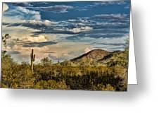 Desert Sky - San Tan Arizona Greeting Card