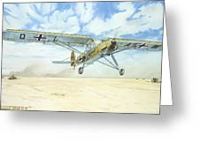 Desert Storch Greeting Card