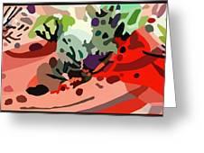 Mojave Mod 2b H  Greeting Card