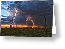 Desert Strike Greeting Card