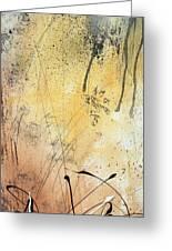 Desert Surroundings 1 By Madart Greeting Card