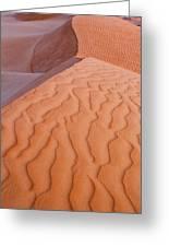 Desert Textures Greeting Card