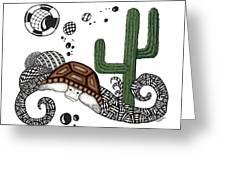 The Desert Tortoise Greeting Card