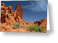 Desert Tower Valley Of Fire Greeting Card