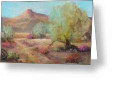 Desert Trails Greeting Card