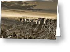 Desert View - Anselized Greeting Card