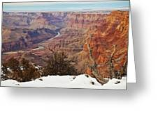 Desert View Colorado Greeting Card