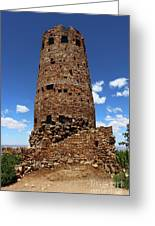 Desert View Watchtower At Grand Canyon Greeting Card