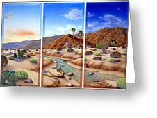 Desert Vista Greeting Card