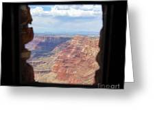 Desert Watchtower View Grand Canyon  Greeting Card