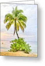 Deserted Beach Tioman Greeting Card