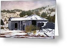 Deserted Chloride Arizona Greeting Card by Evelyne Boynton Grierson