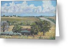 Deserted Farm House Greeting Card