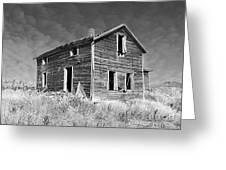 Deserted Home On The Range Greeting Card